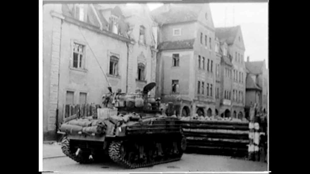 1945 einmarsch der amerikanischen truppen in bamberg