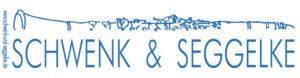 logo schwenk und seggelke blau
